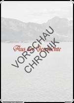 Gau-Chronik des Altbayrisch-Schwäbischen Gauverbandes altbayerisch Gauchronik